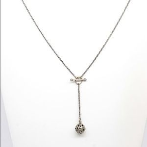 Silpada Sterling Silver Lariat Necklace